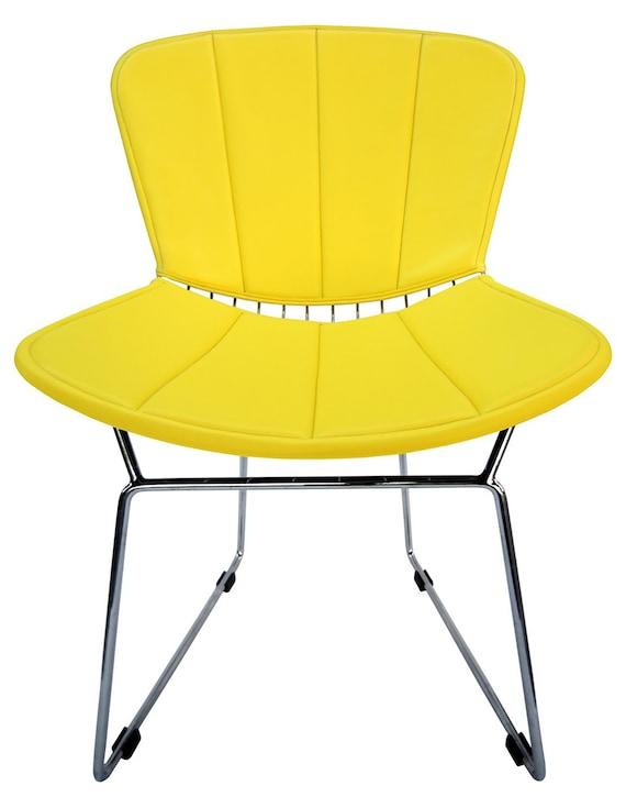 Charmant Full Cushion U0026 Back Pad For Bertoia Side Chair Vinyl Many | Etsy