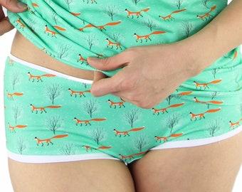3cb23fbf4b9a72 Fuchs Unterhose, Baumwoll Unterhose, Hipster, Frauen Unterwäsche, Slip  Baumwolle, bunte Unterwäsche, bequeme Unterhose