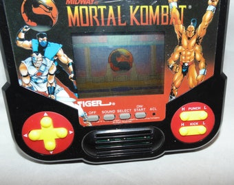 Vintage Midway Mortal Combat Tiger Electronic Hand Held Game 1988 Working!!