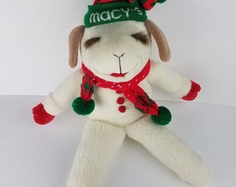 6ee253c8f52b2 Vintage 1993 Jumbo Christmas Lamb Chop lambchop 23