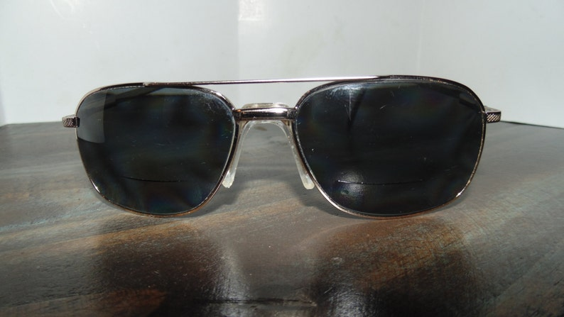 1e5d7546b2 Vintage Zyloware Stetson Bifocal Mens prescription Sunglasses
