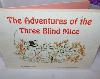 Vintage Scholastic Book The adventures of the Three Blind Mice 1965 John Ivimey PB
