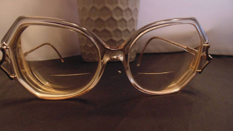2ba68d4c0f Vintage Luxottica Regina prescription eyeglasses Bifocal