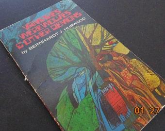 Vintage Bernhardt j. Hurwood vampires werewolves & other demons Paperback book 1975 PB