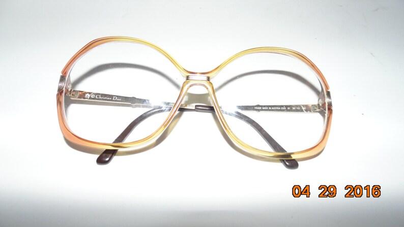 70e92663e9 Vintage Christian Dior original genuine Eyeglasses glasses