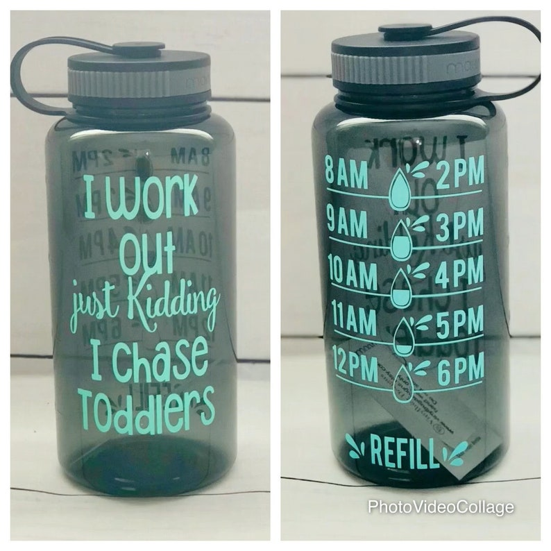 I chase toddlers chasing toddlers water bottle keep track water, mom life water bottle tracker toddler teacher teacher appreciation