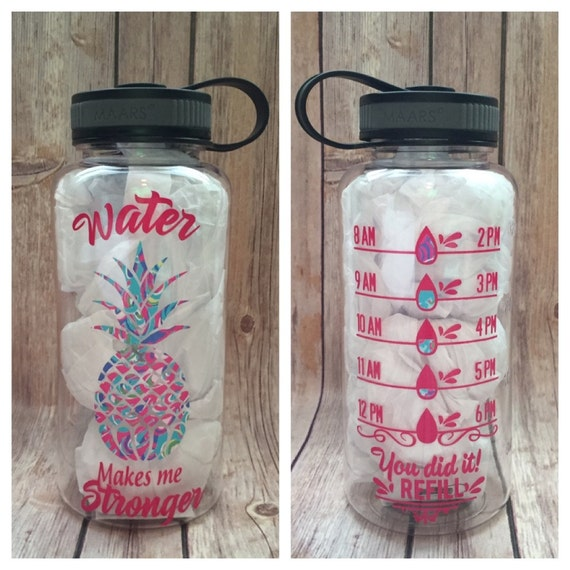 Work Inspirational Water Bottle Work Out Exercise Fitness Choose Style 12oz.