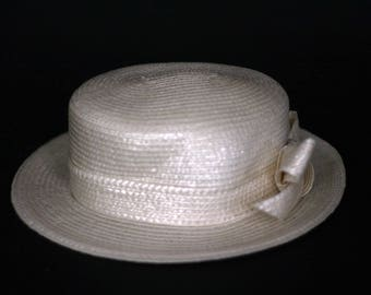 493dba17ef9 vintage frank olive for neiman marcus woven women s hat