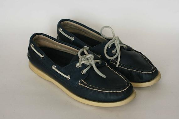 Vintage sperry top sider dark blue
