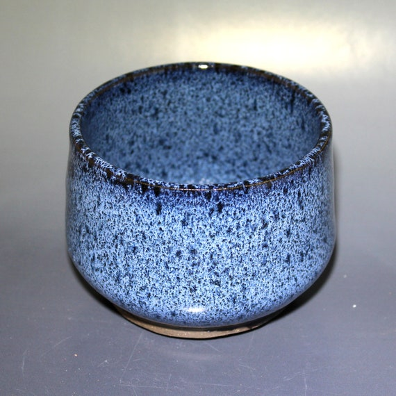 Handmade Elegant Blue Waterfall Ceramic Stoneware Glazed Etsy