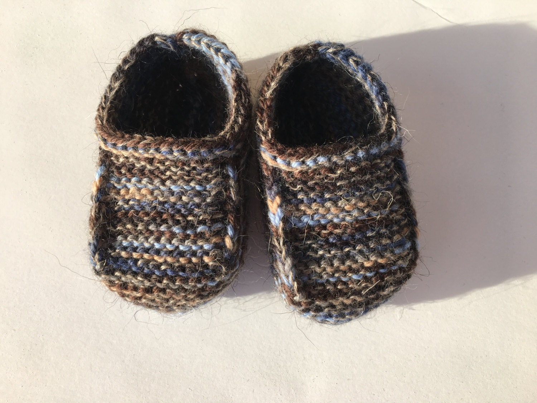 56 Spitzen Baby Babyschuhe Strickschuhe Blau Weiß Handgestrickt Gr Kleidung, Schuhe & Accessoires