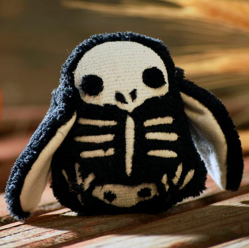Bird skull gifts Skeleton Plushie Chick Skelly Stuffie  image 0