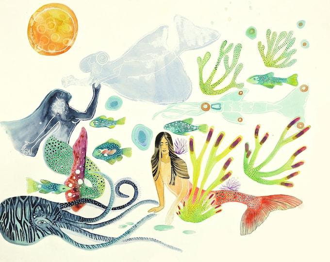 Vida Aquatica No. 1