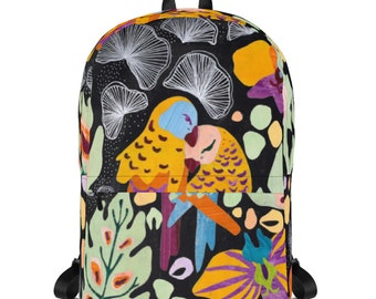 Youth Backpack, Lovebirds