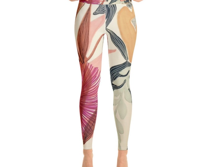 Yoga Leggings, Flora + Fauna