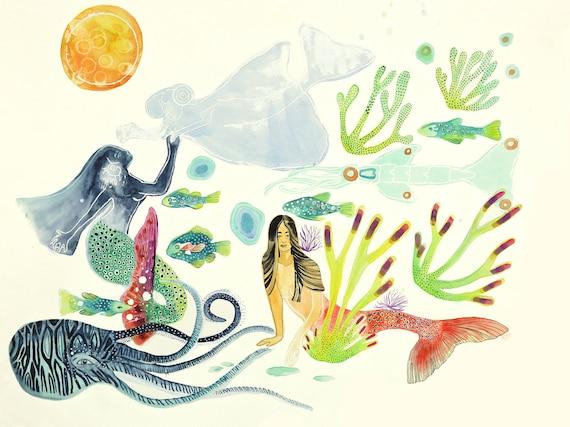 Vida Aquatica No. 5