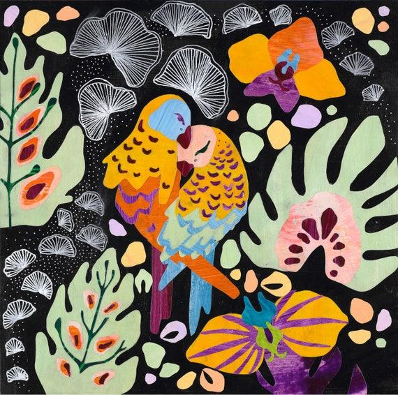 Lovebirds No. 3