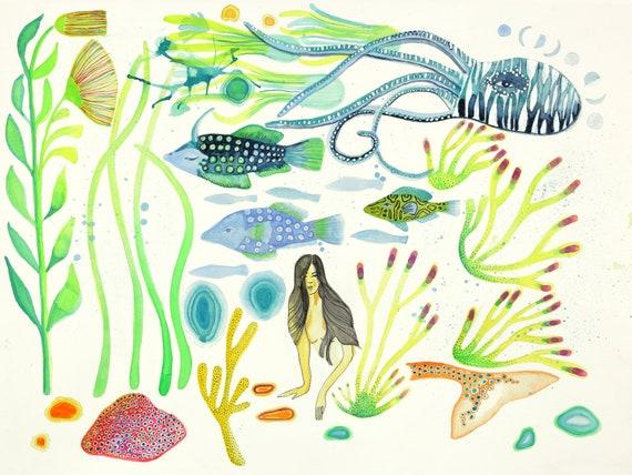 Vida Aquatica No. 2