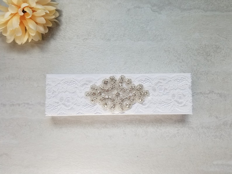 toss garter multiple styles lace garter full lace Bridal lace garter