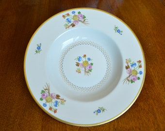 Vintage China ~ Old Ivory Coventry Syracuse Rimmed Soup Bowl