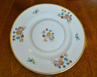 Vintage China ~ Old Ivory Coventry Syracuse Bread and Butter (or Wedding Cake!) Plate