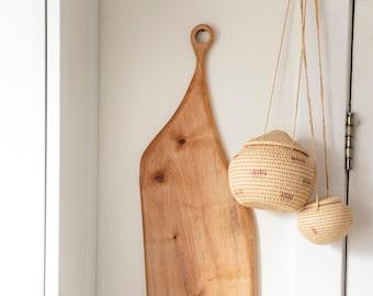 Handmade Reclaimed Maple Serving Board