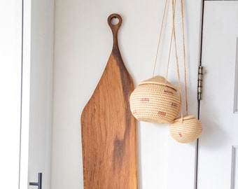 Handmade White Oak Serving Board