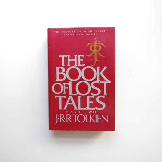 Jrr Tolkien The Book Of Lost Tales Vol 2 1984 History Etsy