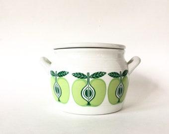 Midcentury Arabia Pomona Lidded Jar c. 1960s