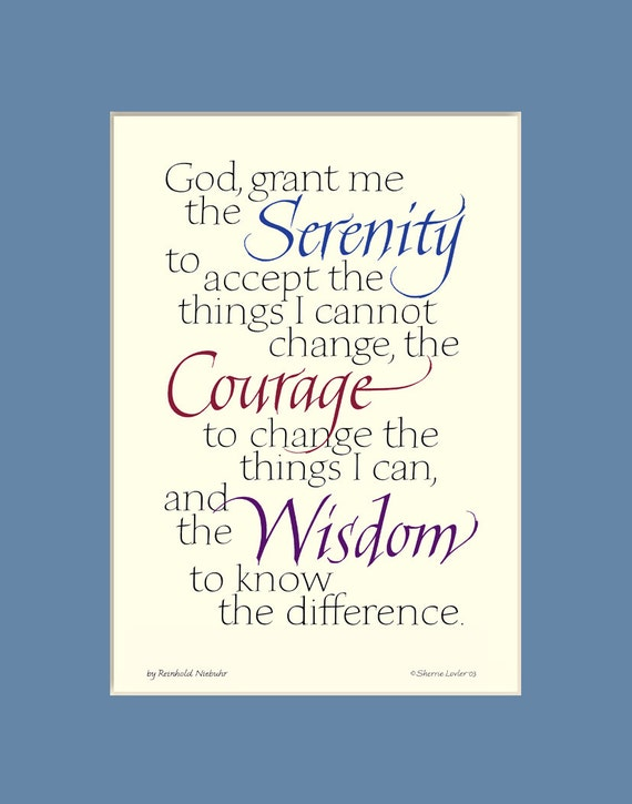 This is a picture of Printable Serenity Prayer intended for spanish