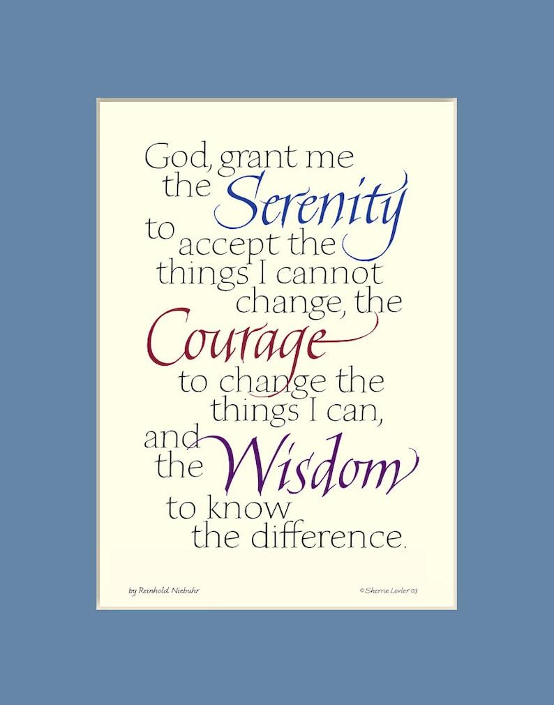 Rare image throughout printable serenity prayer