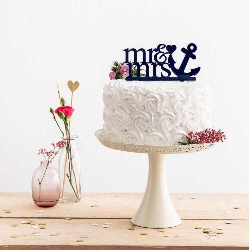 quality acrylic Prsonalised Fiance /& Fiancee Cake Toppers Engagement Mr /& Mrs