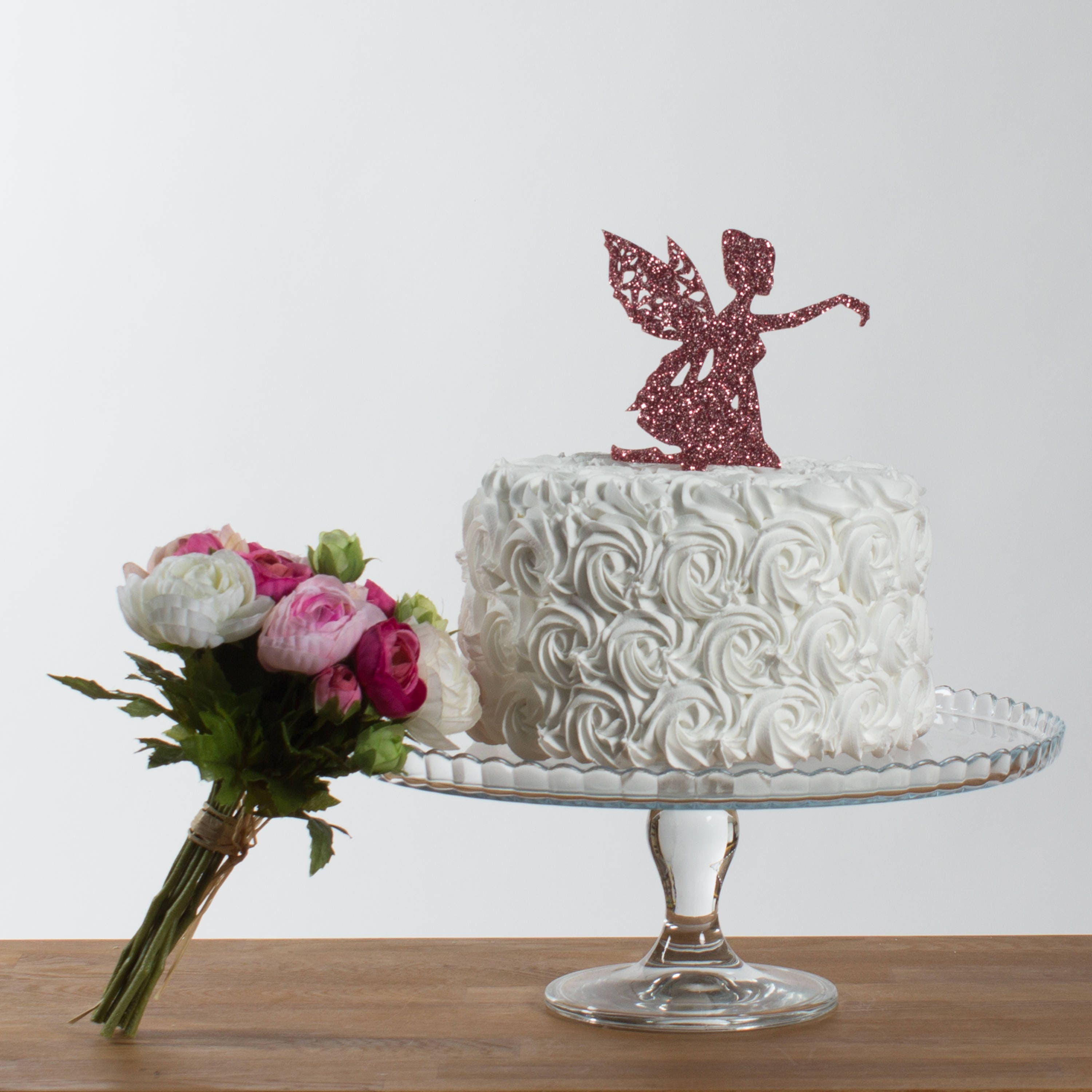 Fairy Cake Topper - Fairy Tale Birthday Party Cake Decoration ...