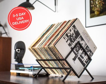 LP storage // Records stand // Display for vinyls // 5 day USA delivery