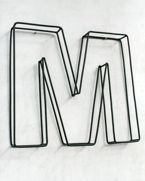 Inschrift HOME Buchstaben aus Draht gebogen und verschweißt. | Etsy