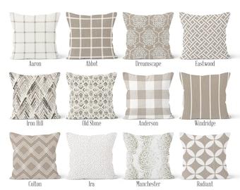 06b2510d4fc Ecru Beige Pillow Cover