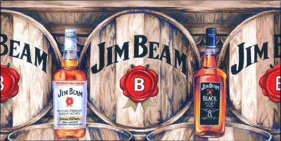 Jim Beam Kentucky Bourbon Whiskey Beverage COASTER