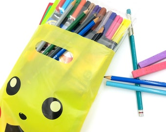 SALE Craft Supply Packs: Grab Bag Used Supplies, Mystery Blind Bag, Art Supply Destash, Markers, Drawing Pencils, Scraps, Jewelry Wire