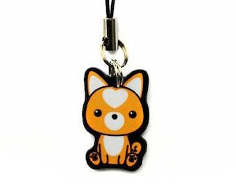 "Shiba Inu Dog 1"" Cell Charm"