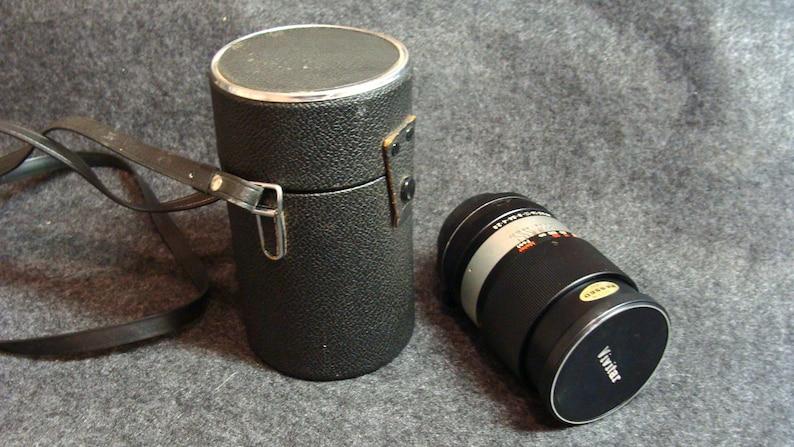Vintage 35mm Camera Lens, Vivitar No  123739, 135mm