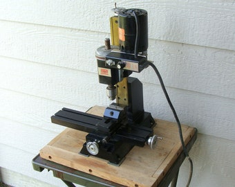 Older Sherline Table Top Vertical Milling Machine, for Watches, Jewelry, Other Small Milling Work!