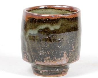 Yunomi, Tenmoku and celadon glazes