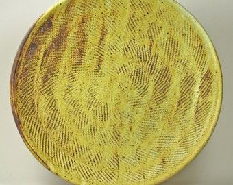 Large ceramic serving platter