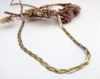 ff949b8c7aa6 Braided gold chain