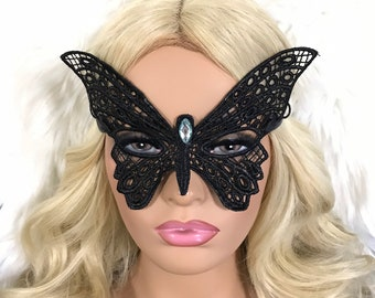 Fancy Masquerade Mask Party lace Butterfly Mask Silver Masquerade mask lace masqueradeButterfly Costume Party Mask Surreal Party-