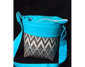 Dslr Camera Bag\ Zipper Top \Camera purse\ Camera case\ Canon Nikon Olympus Sony \ Zipper pocket \ Chevron Dslr bag \ Camera bags 8x5x9