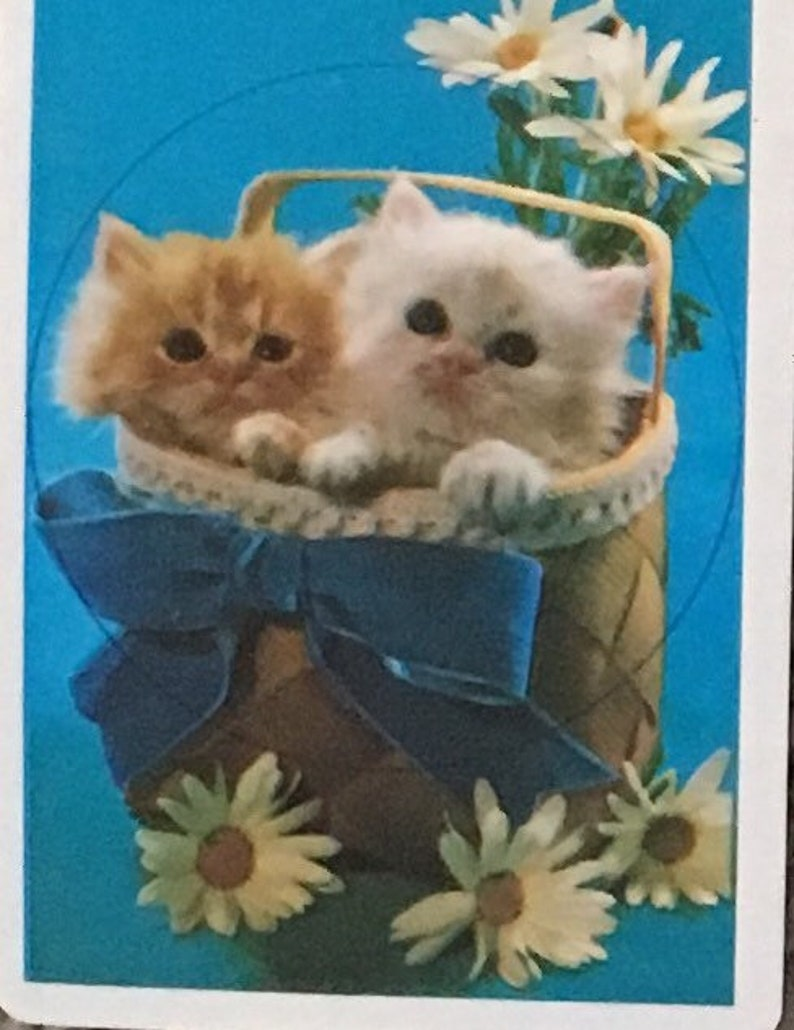 playing cards Woodstock vintage cats Scotty dogs butterfly Swap cards 16 cards Snoopy