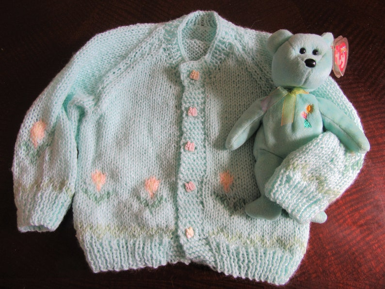 4529fd739 Child s Hand Knitted Sweater Girl. Size 2-4 years old