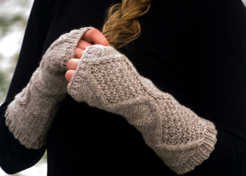 Fingerless gloves Hand warmers  Handwarmers Arm warmers image 0