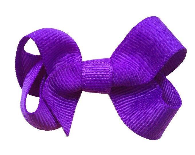 Baby hair bow - hair bows, girls bows, baby bows, baby girl, toddler bows, small bows, boutique bows